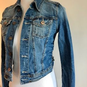 H&M Jackets & Coats - h&m cropped denim jacket